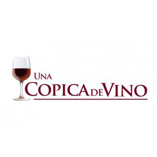 Una copica de vino
